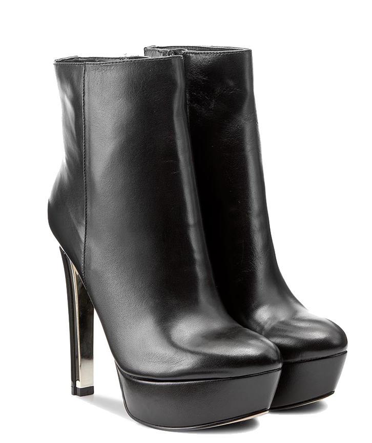 selecție uimitoare pantofi autentici marimea 7 Botine Guess Ecker, Din Piele Black - Cumpără Online La Preţuri De ...